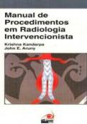 MANUAL DE PROCEDIMENTOS EM RADIOLOGIA INTERVENCION