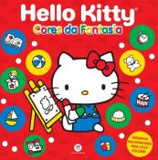 BRO-COLORIR-LIC-HELLO KITTY CORES DA FANTASIA