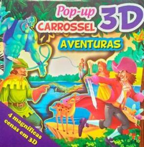 CARROSSEL POP-UP 3D - AVENTURAS.