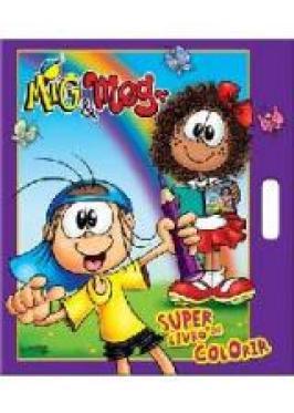 Super Livro De Colorir Mig Meg Livraria Cameron
